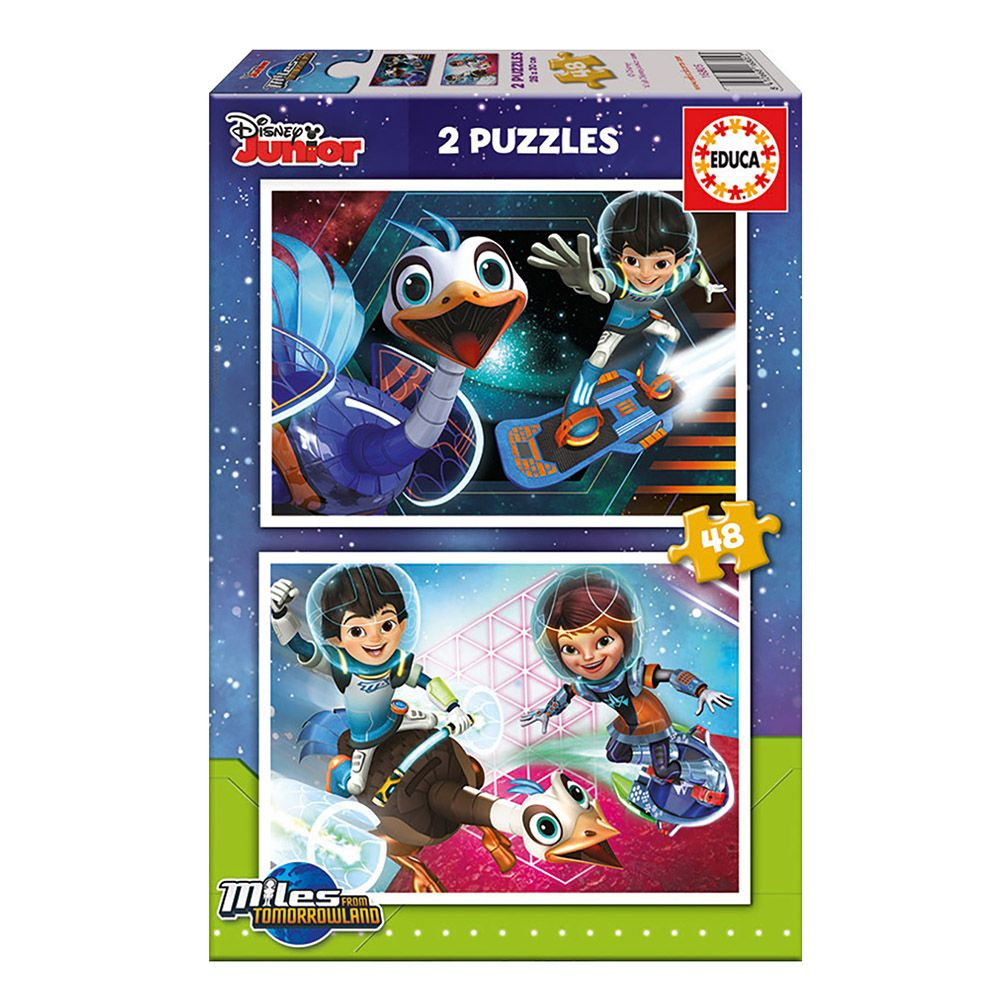 Miles From Tomorrowland, пъзел 2 x 48 части