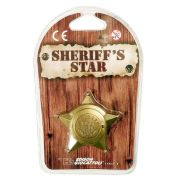 Шерифска значка, Sheriff's Badge Star - Gold