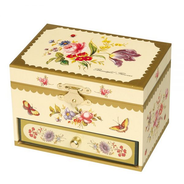Trousselier S35102, Музикална кутия Цветя