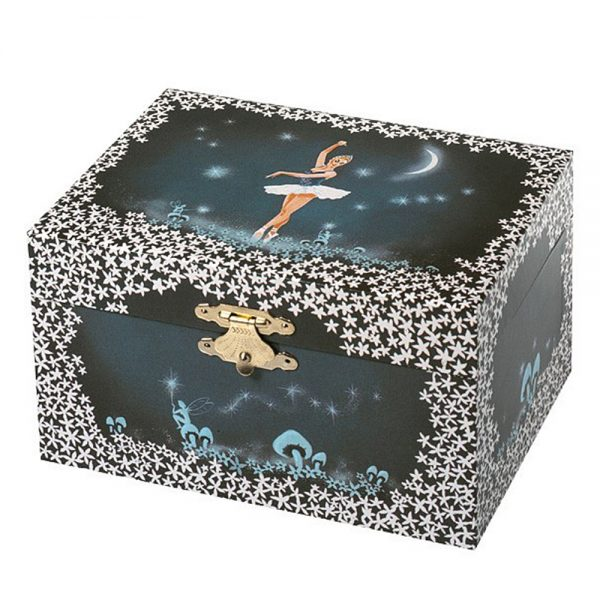 Музикална кутия Нощен танц, фигурка - балерина