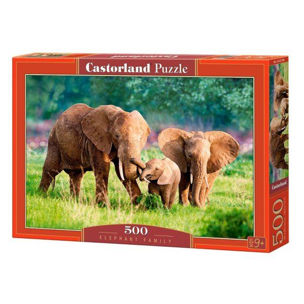 Castorland B-52196, Семейство слонове