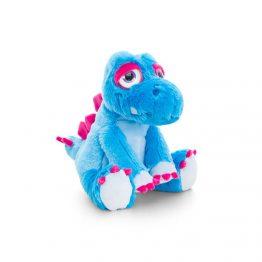 Keel Toys SF0858, Плюшен динозавър син