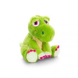 Keel Toys SF0858, Плюшен динозавър зелен