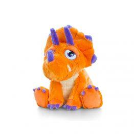 Keel Toys SF0858, Плюшен динозавър оранжев