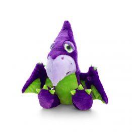Keel Toys SF0858, Плюшен динозавър лилав