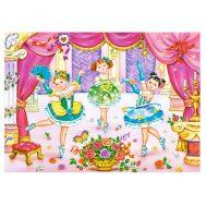 Castorland B-007059, Малки балерини, пъзел 70 чаcти
