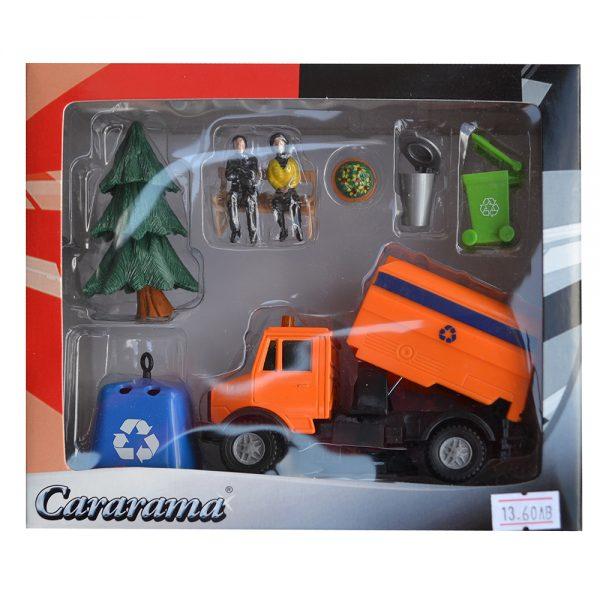 Cararama 130D, Боклукчийски камион, комплект