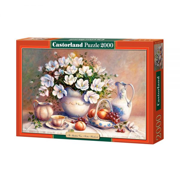 Castorland C-200474, Ваза с цветя, пъзел 2000 части