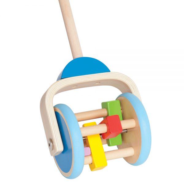 HAPE Е0345, Играчка за бутане с тракащи елементи