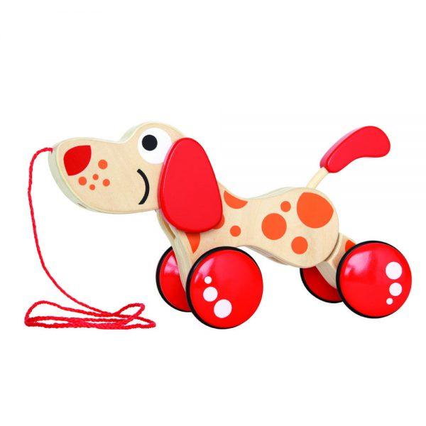 HAPE Е0347, Играчка за дърпане, Куче