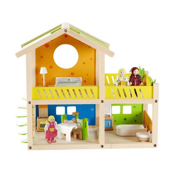 HAPE Е3402, Дървена къща за кукли, Веселата вила