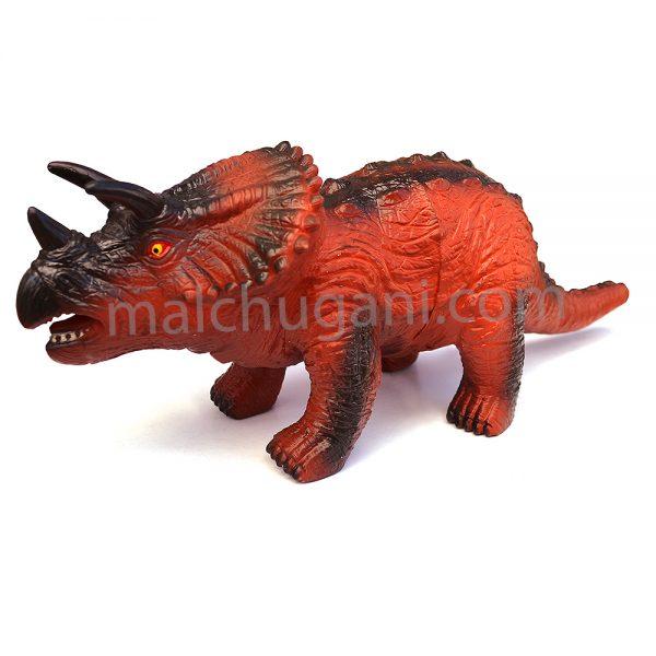3425C, Гумен динозавър със звук, Трицератопс