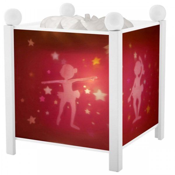 Trousselier 4311W 12V, Магическа лампа Балерина - Бялa 12 V