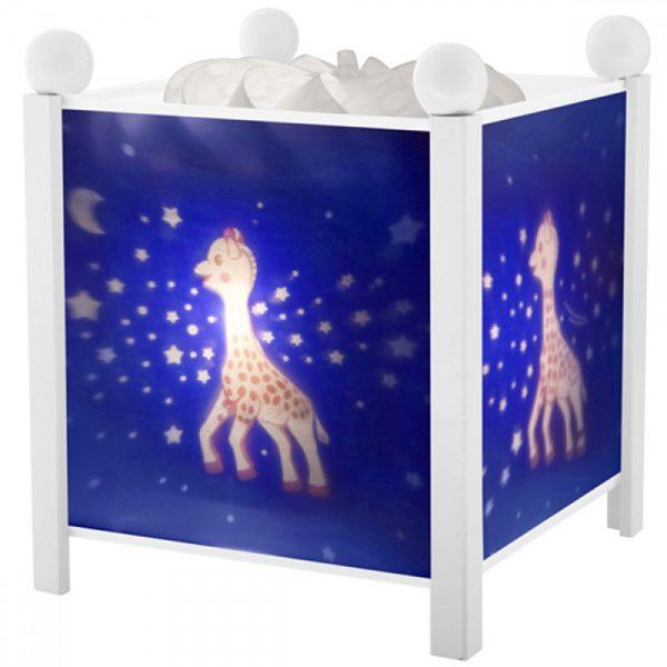 Trousselier 4363W 12V, Магическа лампа Жирафчето Софи - Бяла 12 V
