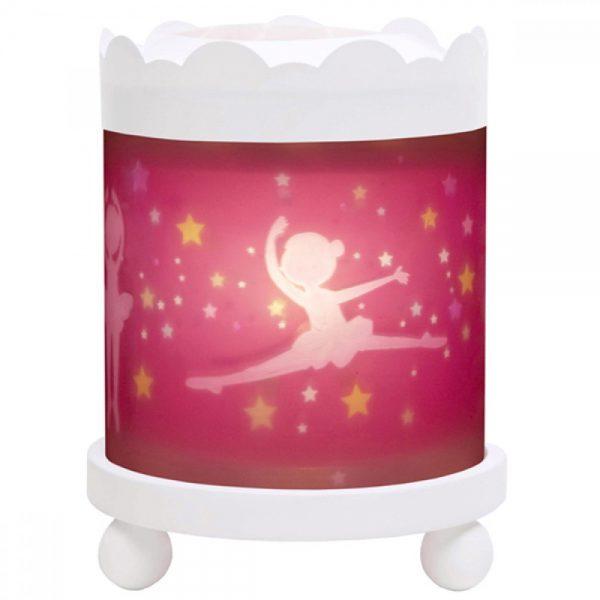 Trousselier 43M11W 12V, Магическа кръгла лампа Принцеси - Бяла 12 V