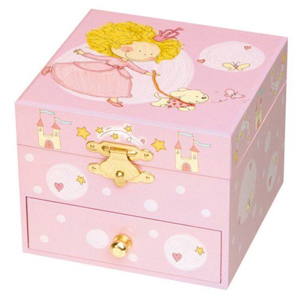 Trousselier S20701, Музикална кутия Принцесата и нейното куче