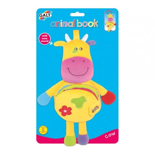 "Galt Toys 1003085, Играчка - книжка ""Крава"""