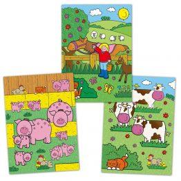 Galt Toys 1003163, Рисувай с вода - Ферма