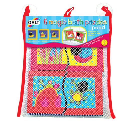 Galt Toys 1003526, 6 вълшебни пъзела за баня