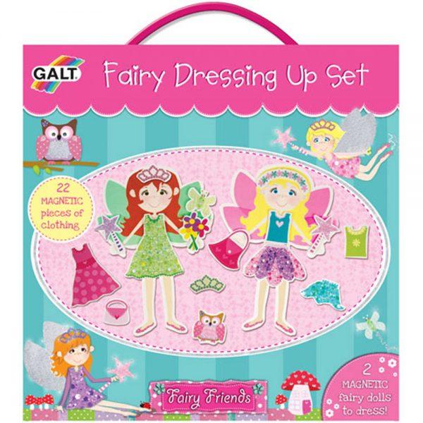 Galt Toys 1003634, Феи с магнитни дрехи и аксесоари