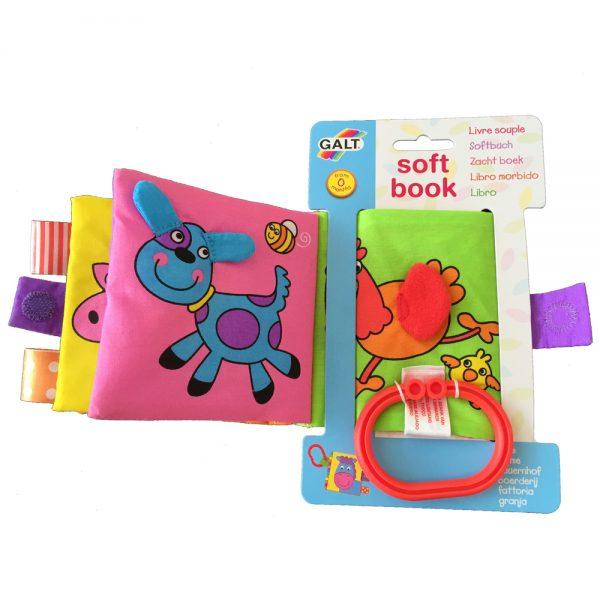 "Galt Toys 1003700, Малка мека книжка ""Ферма"""