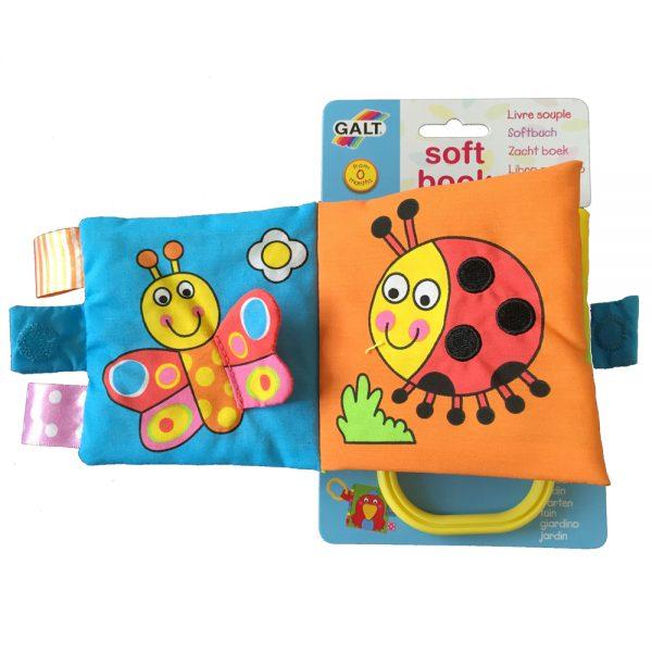 "Galt Toys 1003706, Малка мека книжка ""Градина"""