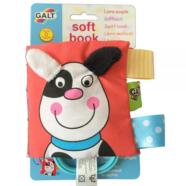 "Galt Toys 1003709, Малка мека книжка ""Домашни любимци"""