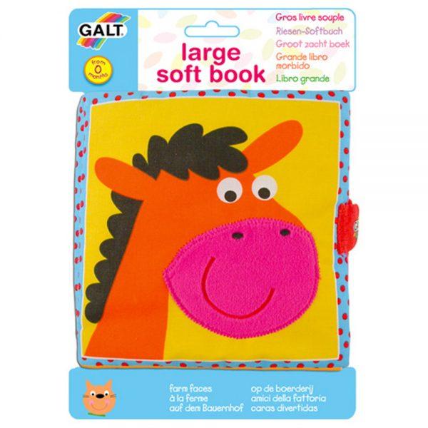 Galt Toys 1003730, Мека книжка Животните от фермата
