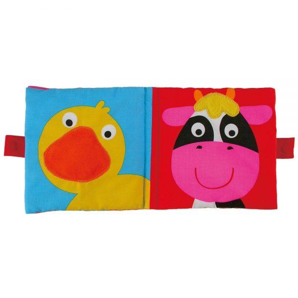 """Galt Toys 1003730, Мека книжка """"Животните от фермата"""""""