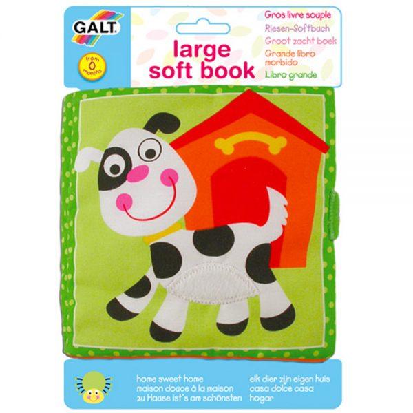 "Galt Toys 1003733, Мека книжка ""Моят дом"""