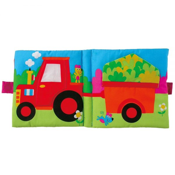 """Galt Toys 1003736, Мека книжка """"Скрий и намери"""""""