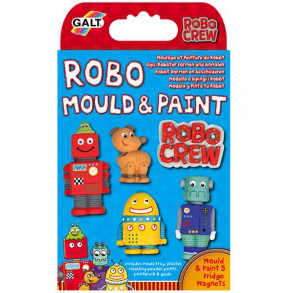 Galt Toys 1004129, Роботи - Направи сам 5 магнита - робота