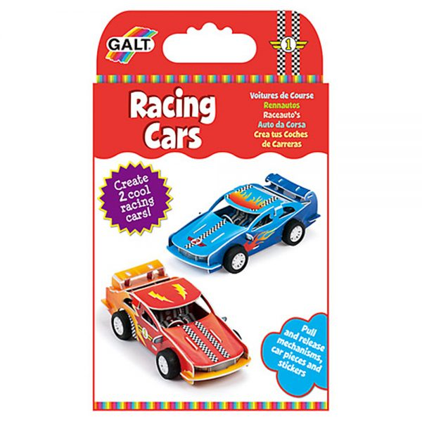 Galt Toys 1004351, Направи сам състезателни коли