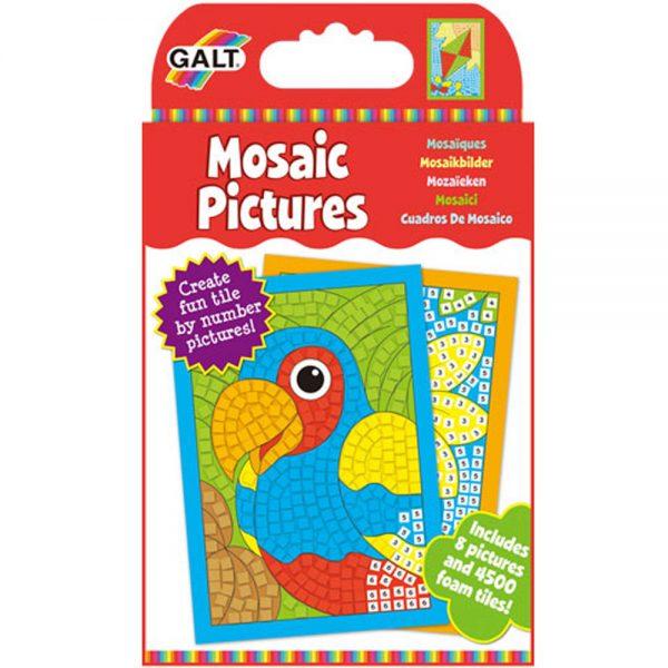 Galt Toys 1004408, Картинки-мозайки по номера