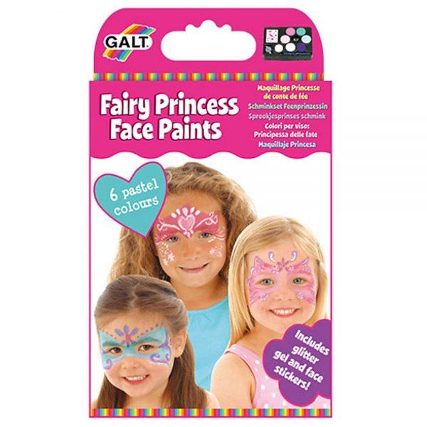 Galt Toys 1004420, Нарисувай лицето си Феи