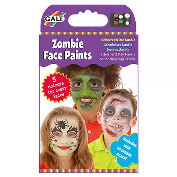 "Galt Toys 1004423, Нарисувай лицето си ""Зомби"""