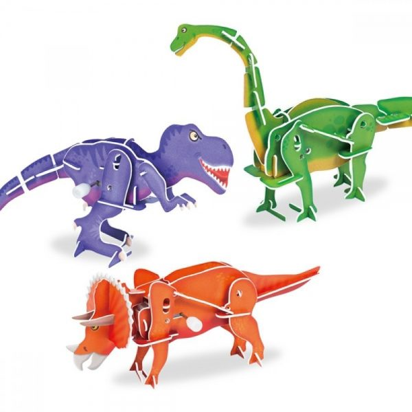 Galt Toys 1004579, Направи сам подвижни динозаври