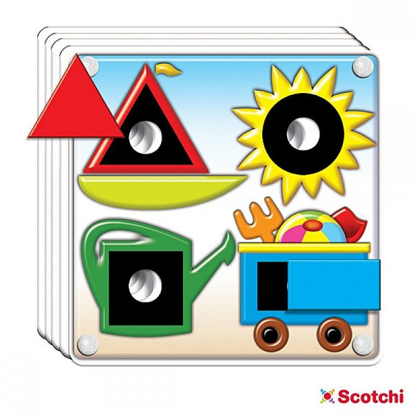 Scotchi 620002, Форми и цветове - Велкро
