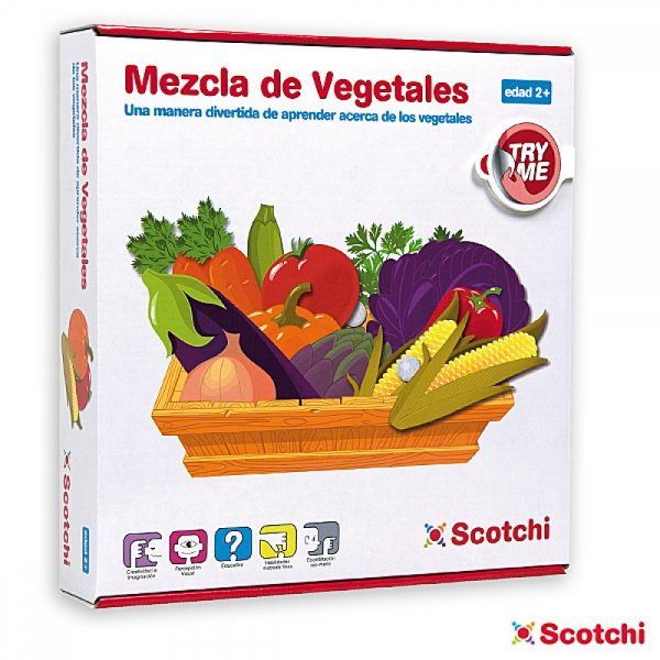 Scotchi 620013, Зеленчуците - Велкро