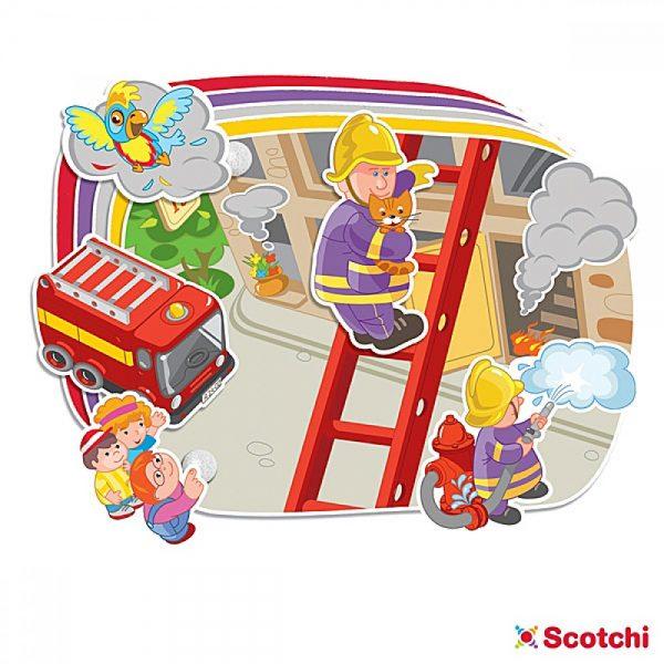 Scotchi 620018, Професии - Велкро