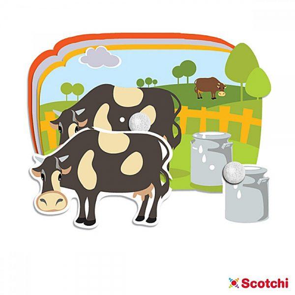 Scotchi 660001, Моите приятели от фермата - Велкро