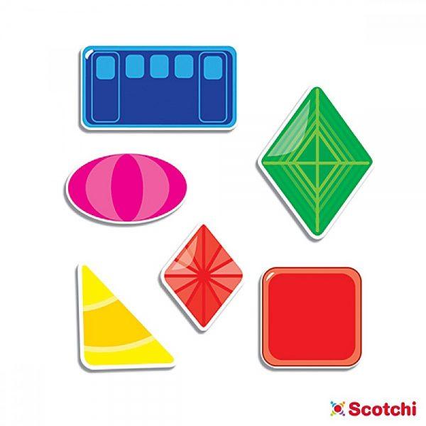 Scotchi 660002, Моята първа игра с форми - Велкро
