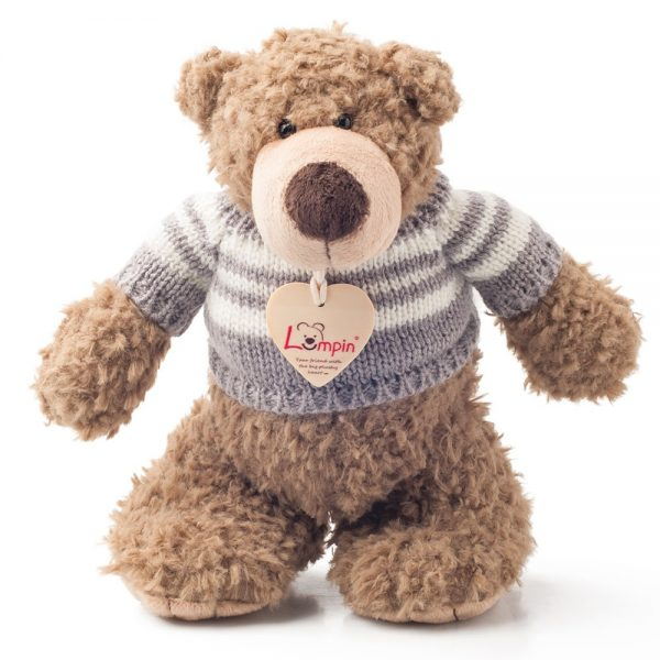 Lumpin 94010, Плюшен мечо Денис с пуловер