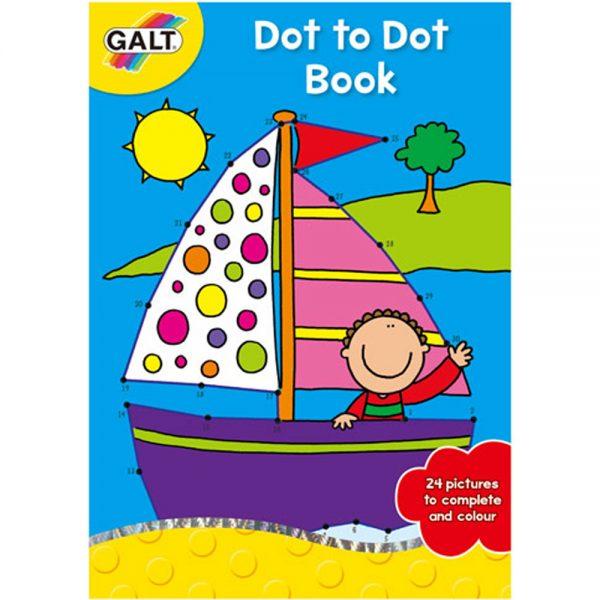 Galt Toys A3071B, Книжка - Свържи точките II