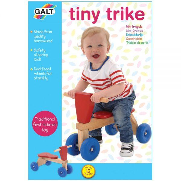 Galt Toys L1034L, Дървено бебешко колело с четири колела