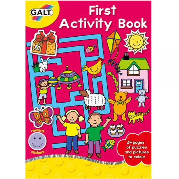 Galt Toys L3077A, Моята първа активна книжка