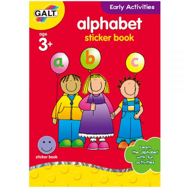 "Galt Toys L3120E, Книжка ""Английската азбука"""