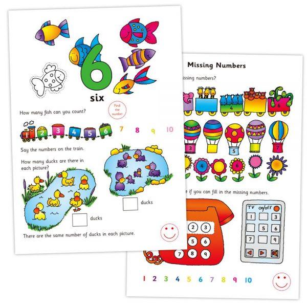 """Galt Toys L3121C, Книжка """"Да се научим да броим"""""""