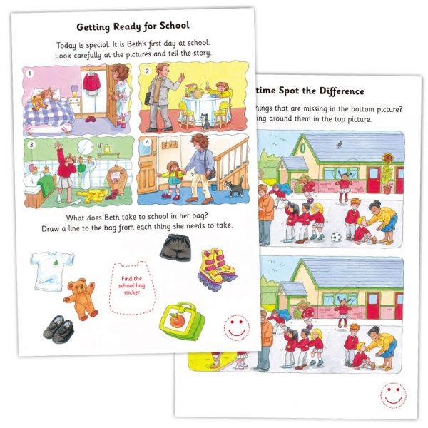 """Galt Toys L3123H, Книжка """"Всичко за училище"""""""