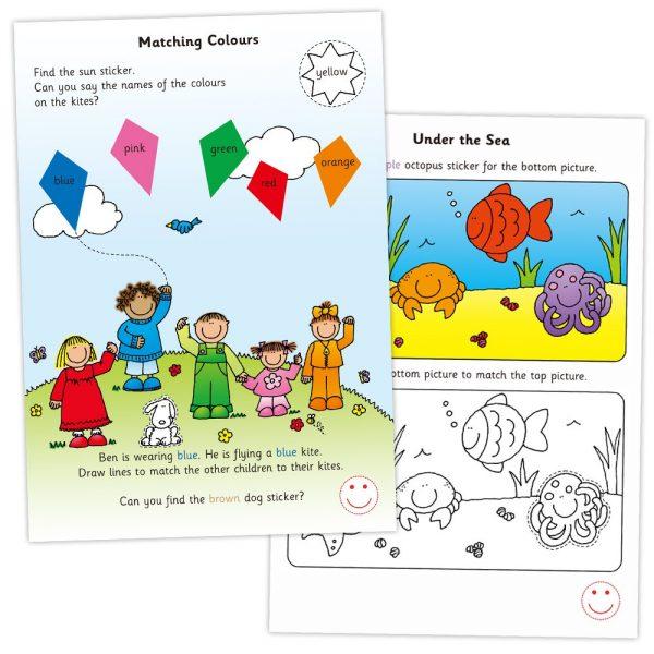 """Galt Toys L3124F, Книжка """"Цветове, форми и размери"""""""